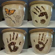 buy small planters use ceramic paint to add s