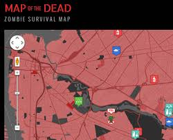 map of the dead map of the dead survival map things