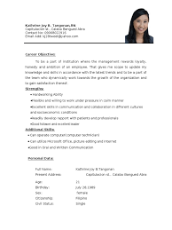 Sample Resume For Fresh College Graduate Sample Cover Letter For A Recent College Graduate Résumé