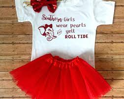 Alabama Football Halloween Costumes Alabama Baby Etsy