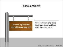 announcement template presentation announcement template business