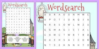 wordsearch worksheet worksheets wizards words