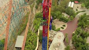 Six Flags Locations California Lex Luthor Drop Of Doom Intamin Rollercoaster Supplier