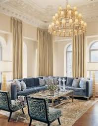 transitional living room in hues of grey and mauve love the
