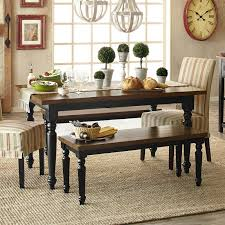 carmichael rubbed black turned leg dining table pier 1 imports