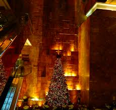 Christmas Tree Pictures 2014 File Trump Tower New York Lobby Christmas Tree Photo D Ramey Logan