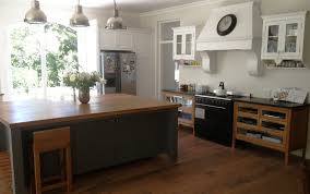 nice free standing kitchen cabinet for house decorating