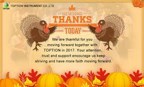 happy thanksgiving day toption instrument co ltd