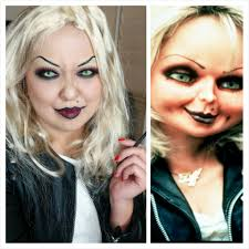 halloween makeup bride of chucky nessasarymakeup com