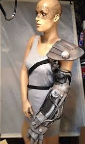 Mad Max Costume Custom Cyborg Arm Shoulder Pad Imperator Furiosa Mad Max Costume