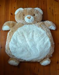 new large teddy bear rug mat newborn baby shower gift boy