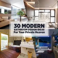 Bathroom Decor Ideas Pictures 30 Modern Bathroom Design Ideas For Your Private Heaven Freshome Com