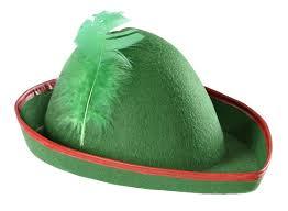 como hacer un sombrero de robin hood en fieltro gorro de peter pan compra al mejor precio