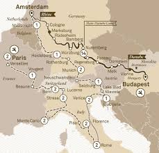 Passau Germany Map by Jewels Of Europe With Grand European River Cruises Europe