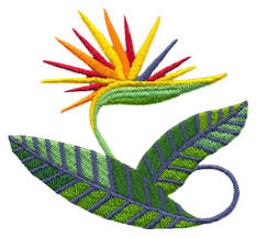 bird of paradise embroidery designs machine embroidery designs at