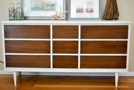 White Bedroom Bureau Furniture Recommended Mid Century Dresser For Home Furniture