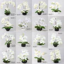 giant white artificial phalaenopsis orchid plant for home giant white artificial phalaenopsis orchid plant for home decoration fake silk flowers