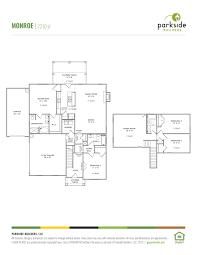 3 4 Bath Floor Plans by St Blaise Retreat Parkside Builders
