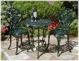 Wrought Iron Bistro Table And Chairs Heavy Wrought Iron Outdoor Furniture Outdoor Furniture