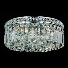 Crystal Flush Mount Lighting Brizzo Lighting Stores 12