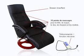 canape massant electrique fauteuil électrique massant et chauffant groupon shopping