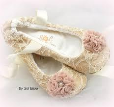 wedding shoes for girl ballet flats chagne ivory blush wedding shoes bridal