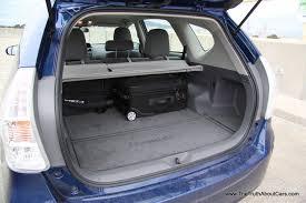 Interior Of Toyota Prius 2012 Toyota Prius V Interior Cargo Area Photography Courtesy Of