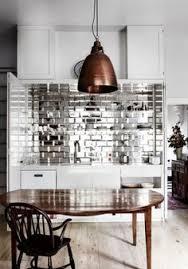 The Art Of The Beautiful Backsplash  Kitchen Inspirations - Mirror backsplash