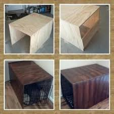 dog crate dog crate cover puppies pinterest crate diy rustic dog crate cover made with plywood 24 pet rusticdiy