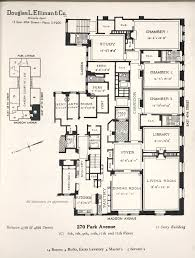 daytonian in manhattan the lost hotel marguery no 270 park avenue the floor plan of a typical 14 room 4 bath apartment columbia university ny real estate brochure collection