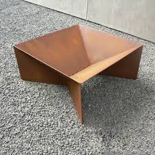 Steel Firepit Plodes 30 Geometric Pit Carbon Steel To Build And Sell