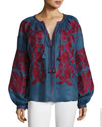 linen blouses embroidered blouse linen linen blouse exclusive blouse with
