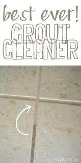 Grout Cleaner Recipe The 25 Best Best Grout Cleaner Ideas On Pinterest Homemade Tile