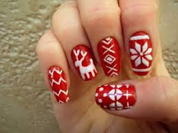 christmas nail designs cute stiletto nails easy