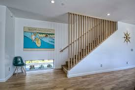 lowes stair treads staircase contemporary with cable rail carpet