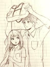 orange naho and kakeru orange pinterest sketches