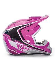 pink motocross goggles fly racing pink black white 2016 kinetic fullspeed kids mx helmet