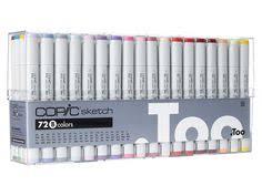 copic sketch marker 72 color set d copic sketch markers copic