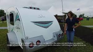 mpg travel trailer floor plans intech rv luna luna youtube
