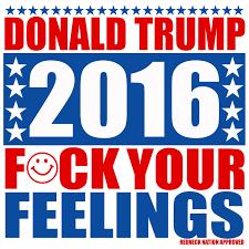 Redneck Flags Trump F Ck Your Feelings Sticker
