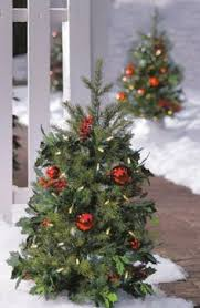 Quality Outdoor Christmas Decorations by Holiday Time Pre Lit 7 U0027 Montgomery Pine Artificial Christmas Tree