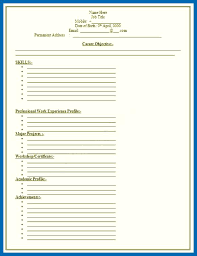 blank resume templates resume template blank sle blank resume templates free resume