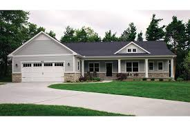 walkout basement house plans open plan ranch with finished walkout basement hwbdo77020 ranch