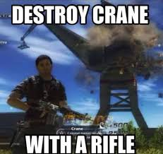 Video Game Logic Meme - video game logic