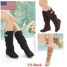 s boots calf s mid calf boots ebay