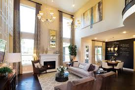 Two Story Family  Living Rooms Please Love The Natural Lighting - Two story family room