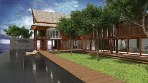 casa msr u2013 thai vacation house design proposal anatomy