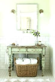 Shabby Chic Vanity Table Full Image For Double Sink Bathroom Vanity With Makeup Table W