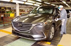 australian mazda motors new mazda cx 5 production commences lands in australia first half