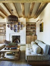 maison bois interieur décoration maison de campagne un mélange de styles chic
